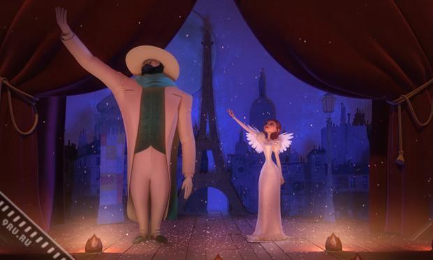 «Монстр в Париже» - романтическая визуально-цветовая феерия